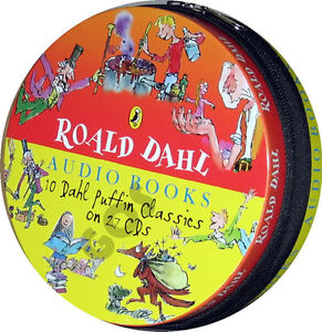 Roald Dahl Childrens Stories 27 CD Kids Audio Book tales Xmas Gift Boxset New