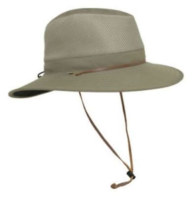 New Solar Escape Outback Men's UV Protection UPF 50+ Hat Khaki Adjustable