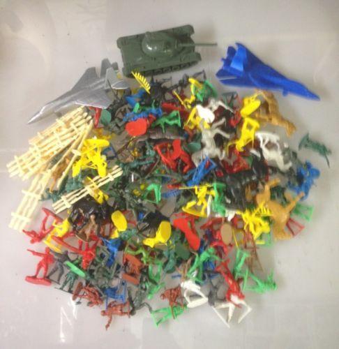 plastic army men playset ebay