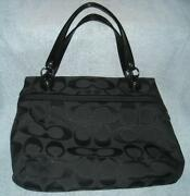 Coach Poppy Lurex Glam Tote
