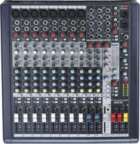 soundcraft mixer ebay. Black Bedroom Furniture Sets. Home Design Ideas