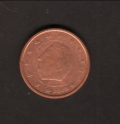 Belgium--2000--2 EuroCents Coin--King Albert II