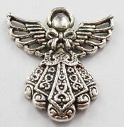 Tibetan Silver Angel Charms