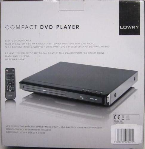 compact dvd player ebay. Black Bedroom Furniture Sets. Home Design Ideas