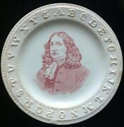 English Staffordshire Plate