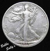 1935 D Walking Liberty Half Dollar