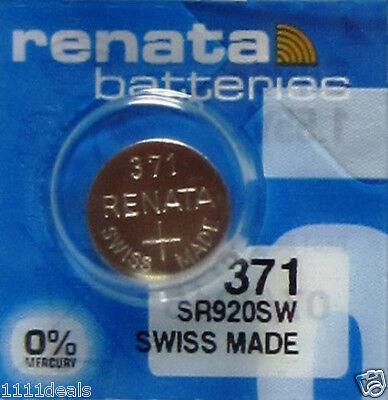 371 Renata Watch Battery SR920SW x 1