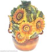 Sunflower Cookie Jar