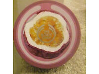 NEW, BODY SHOP PASSION FRUIT BODY BUTTER, 200ML. ONLY £5, PEACEHAVEN.