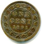 1891 Canada Large Cent