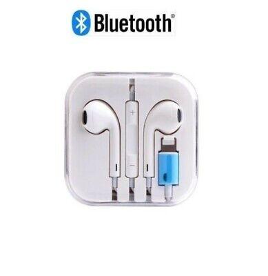 For Apple iPhone 7/8/X/XS Max Lightning Headphones EarPhones Handsfree Bluetooth