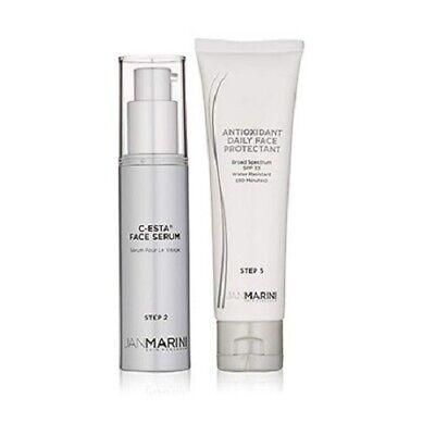 Jan Marini Rejuvenate & Protect Antioxidant Daily Face Protectant & C-Esta Serum