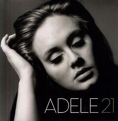 21   Lp    Adele  Vinyl Used Very Good