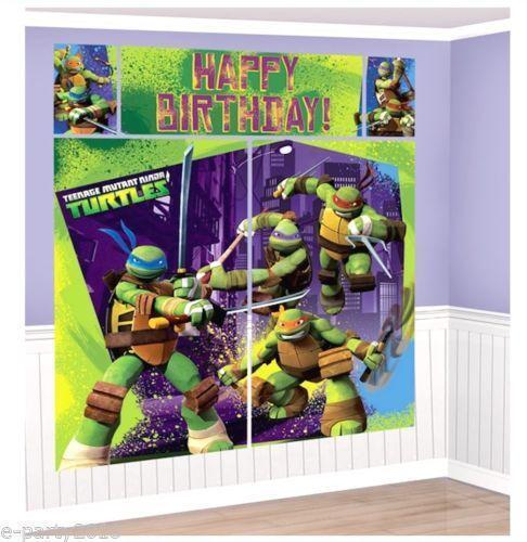 Ninja Turtles Party Supplies Ebay