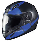 Unisex Youth Blue Motorcycle Helmets