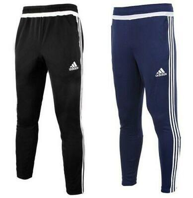Adidas Tiro15 Mens Trackpants Poly Football Training Gym Trousers Sports Joggers