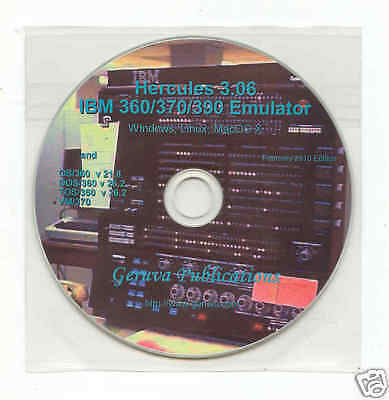 IBM mainframe emulation software, OS/360 DOS/360 VM/370