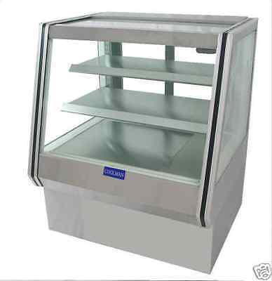 Coolman Commercial Dry Non-refrigerated Counter Bakery Pastry Display Case 36