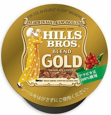 UCC K-CUP Hills Bros Blend Gold Coffee Capsules 8g × 12 Cups from Japan