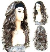 Brown Blonde 3/4 Wig