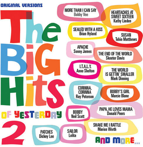 Various Artists - Big Hits of Yesterday 2 [New CD] Jewel Case Packaging