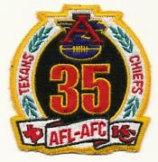 NFL Anniversary Patch