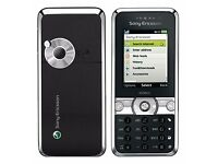 Sony Ericsson K660i Mobile Phone. Silver on Black. As New.