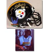 Steelers Signed Mini Helmet