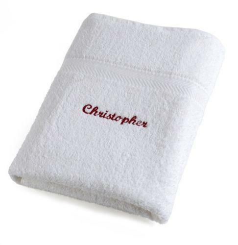 Washcloths History: Personalised Hand Towel