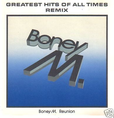 BONEY M. - CD - Greatest Hits Of All Times - (Boney M Greatest Hits Of All Times)