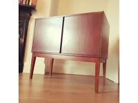 Gorgeous Teak Record cabinet / vinyl storage