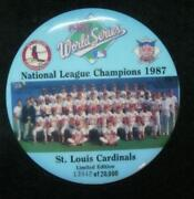 St Louis Cardinals World Series Pin
