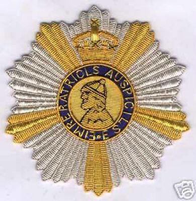 UK Britain British OBE King Order Royal Indian Empire Star Chivalry Badge Crest