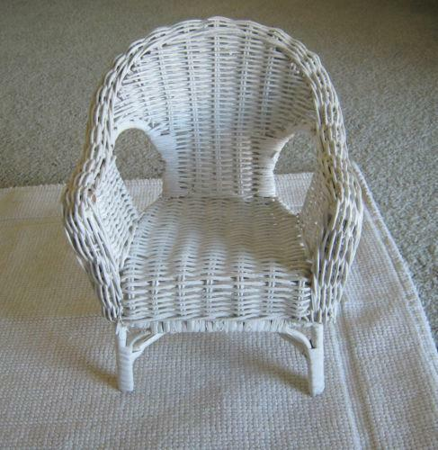 Wicker Doll Furniture Ebay