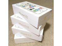 APPLE IPHONE 5s 16GB unlocked box warranty & shop receipt
