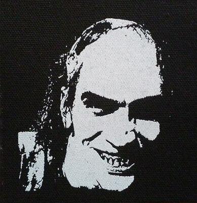 Chop Top / Texas Chainsaw Massacre 2 - PATCH canvas screen print HORROR