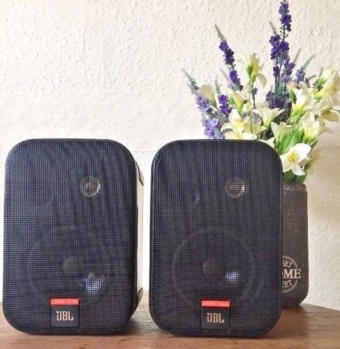Pair Of Jbl Speakers Control 1x Video Production & Editing
