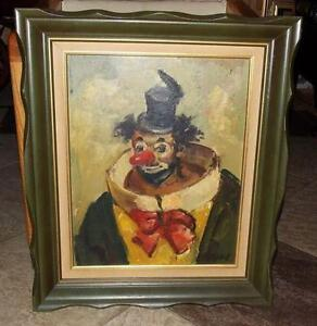 Clown Painting | eBay