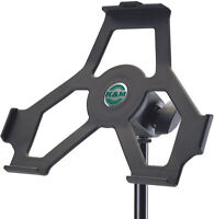 Support iPad pied de micro K&M 19712 iPad holder for mic stand