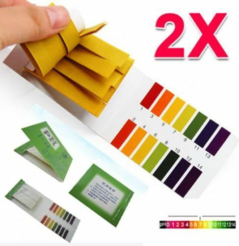 160 Strips PH Paper Test Strips 1-14 Indicator Litmus Saliva Tester Water Paper