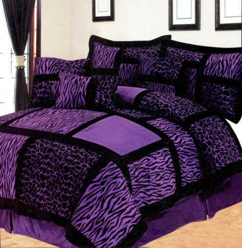 Purple Comforter | eBay