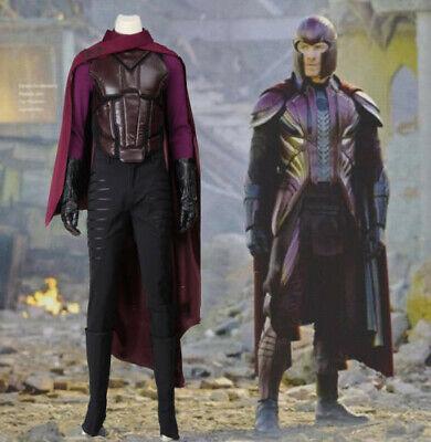 Days Of Future Past Magneto Costume (X-Men: Days of Future Past Costume Magneto Erik Lensherr Costume Halloween)