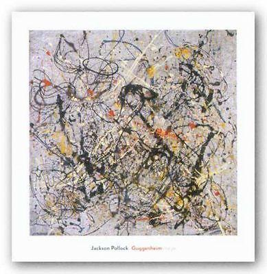 ABSTRACT ART PRINT Number 18 1950 Jackson Pollock