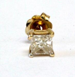 Vintage Estate Diamond Earrings