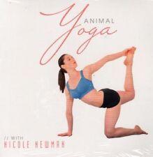 animal yoga with nicole newman advanced yoga poses dvd new