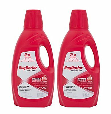 Rug Doctor 04127 Portable Machine And Upholstery Cleaner 2-pack New Free Ship