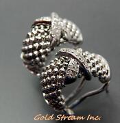 Diamond Clip Earrings