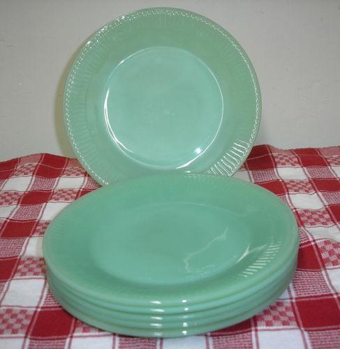 Jadeite Plates: Fire-King