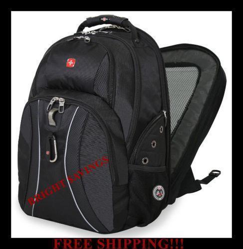 Black Backpack Swiss Army Ebay