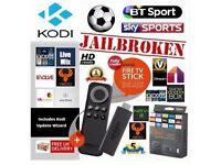 Amazon TV fire stick fully loaded latest kodi 16.1 + mobdro + spinz TV build 2.5 for all your TV